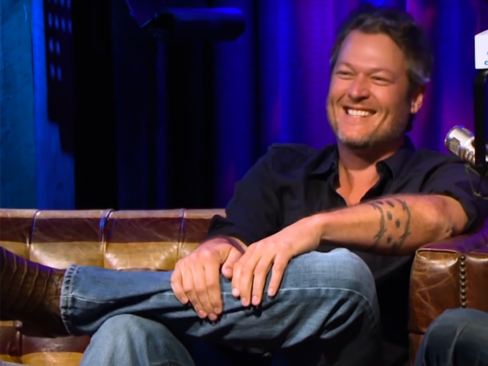 """People"" Magazine's Sexiest Man Blake Shelton Says ""There Is Nobody Talking George Strait Into Doing a Photo Shoot"""