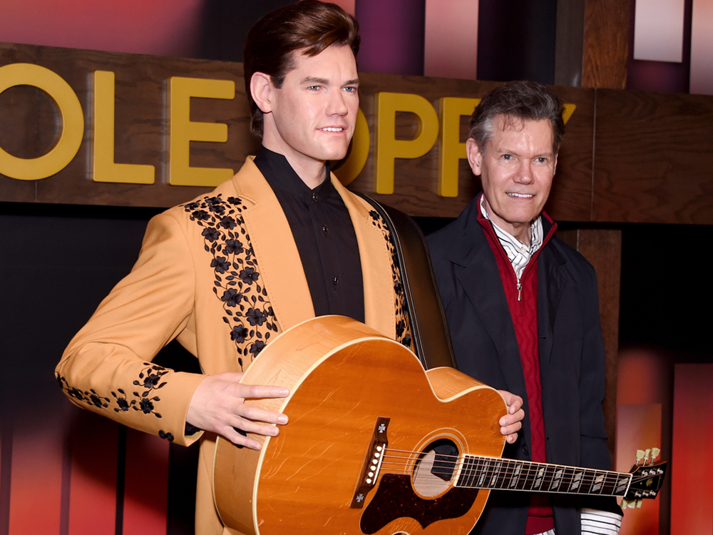 Randy Travis' Wax Figure Unveiled at Madame Tussauds Nashville