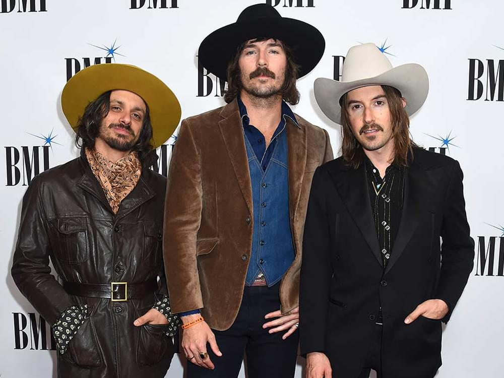 "Watch Midland Perform Upcoming Single, ""Mr. Lonely,"" From New Album at Hall of Fame Event"