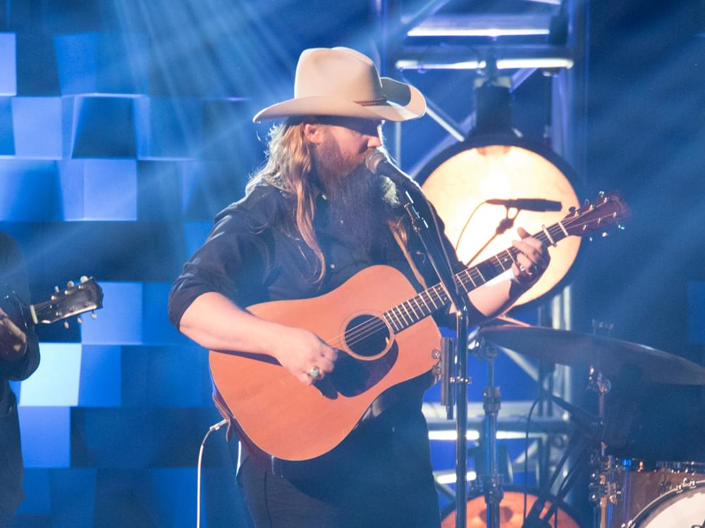 "Inspired by the ""Honesty in Waylon Jennings' Music,"" Chris Stapleton Is All About Making a ""Connection"" With Fans"