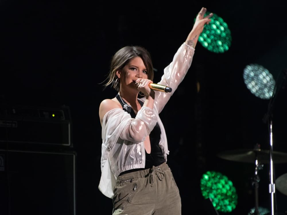 Watch Maren Morris Sing the National Anthem Before Game 5 of the Nashville Predators Opening Round Playoff Series