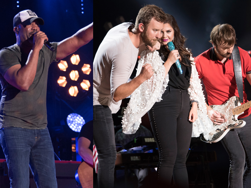 "Darius Rucker and Lady Antebellum Announce Co-Headlining ""Summer Plays On Tour"""