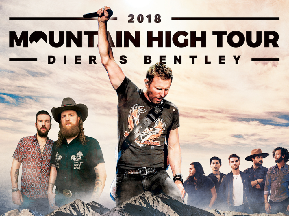 Watch Dierks Bentley Take Brothers Osborne and LANCO on a Hallucination-Fueled Vision Quest in Tour Announcement Video