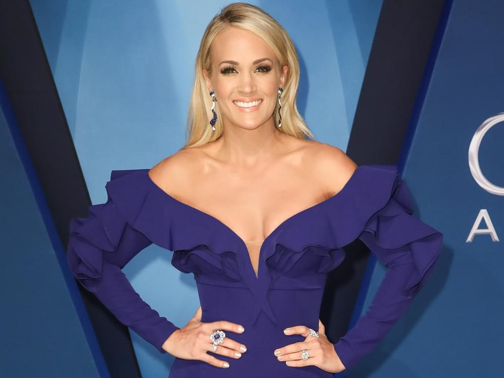 """Carrie Underwood Says Her Parents and Husband Are Her """"Champions"""""""