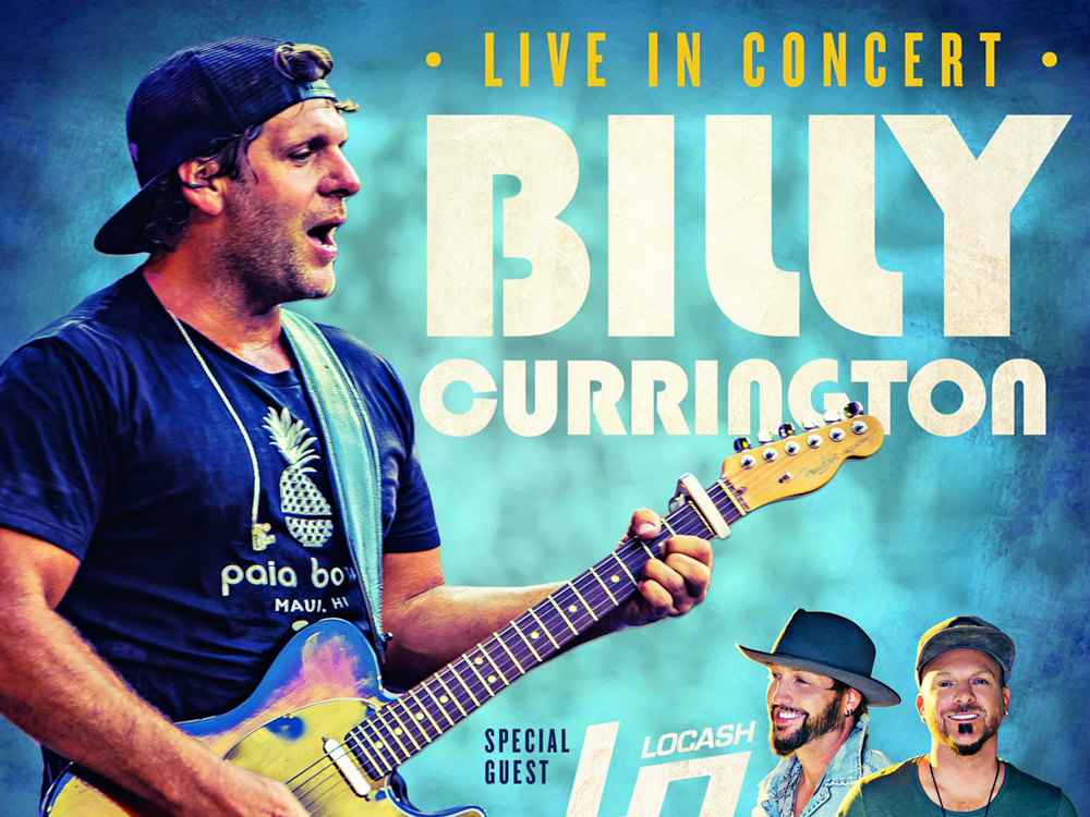 Billy Currington Announces 16-Date Tour With Locash