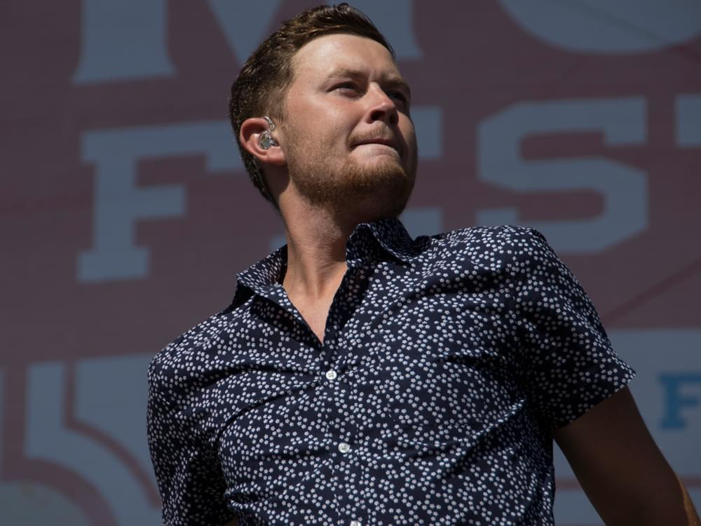"Scotty McCreery Scores 5th Top 10 Hit With ""In Between"""