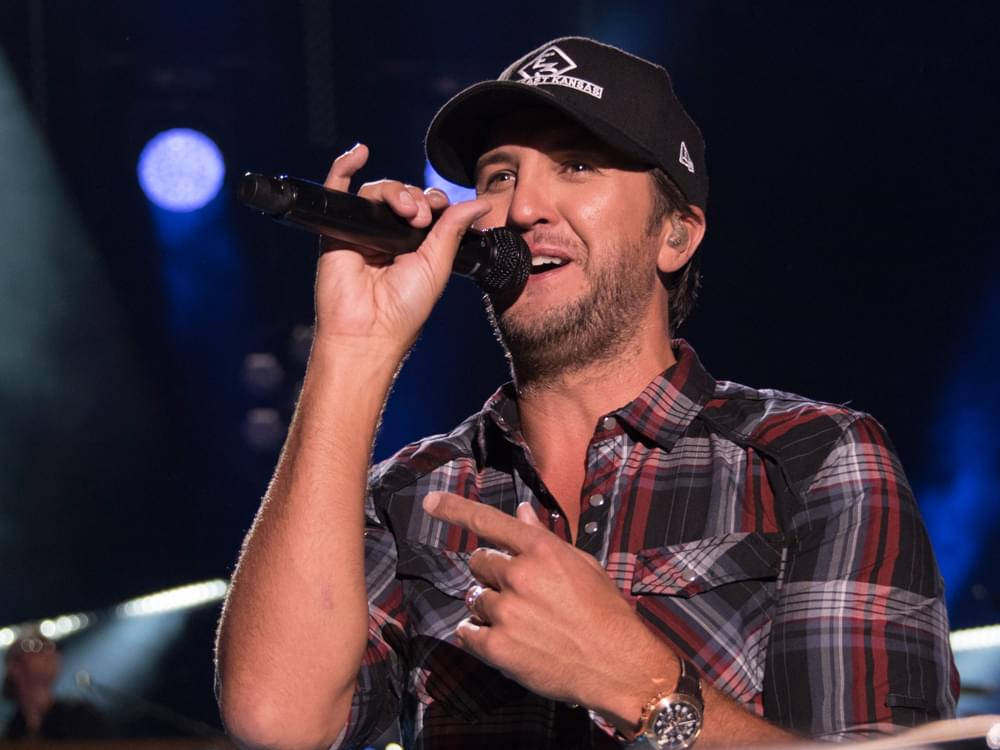 "Listen to Luke Bryan Sing About His ""Dirt Road Cred"" in New Single, ""What Makes You Country"""