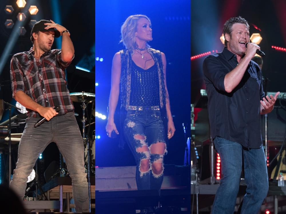 CMA Fest Reveals Lineup, Including Carrie Underwood, Blake Shelton, Chris Stapleton, Luke Bryan & Many More