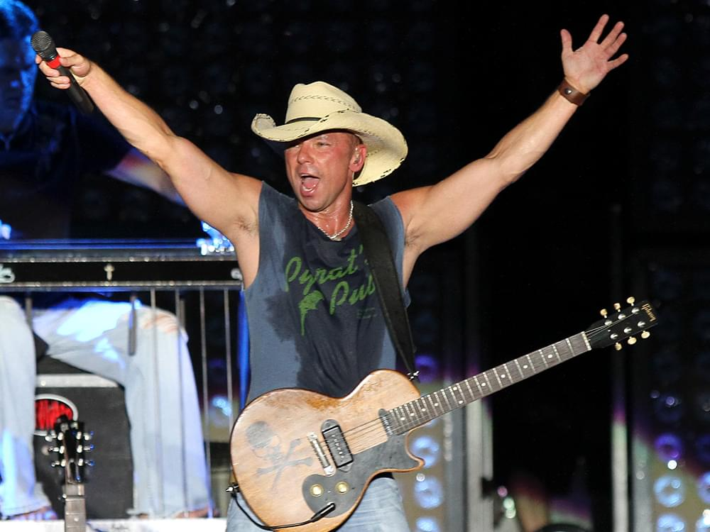 "Kenny Chesney Reveals Intimate ""Songs for the Saints 2019 Tour"""