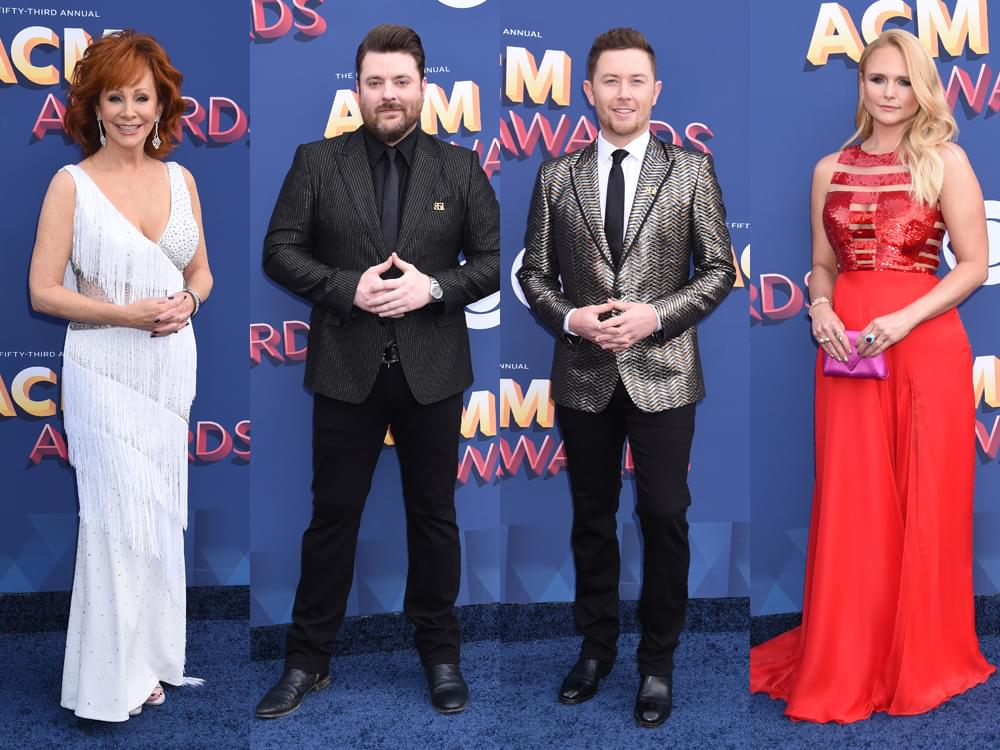 111 of Our Favorite Red Carpet Photos From the ACM Awards, Including Reba, Miranda, Scotty & More