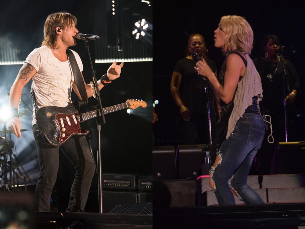 "Keith Urban ""Elated to Accept"" ACM Award With Carrie Underwood for Vocal Event of the Year"