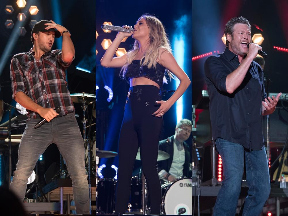 Blake Shelton, Luke Bryan, Kelsea Ballerini, Sam Hunt, Chris Stapleton & More to Perform at CMT Music Awards
