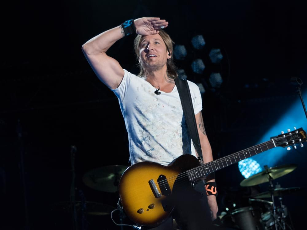 Keith Urban to Embark on 13-Date European Tour in 2020