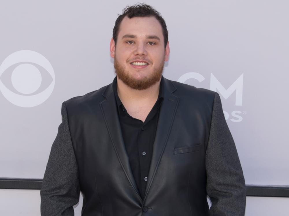 "Luke Combs Looking Forward to Buying a House After Scoring 3rd Consecutive No. 1 Hit With ""One Number Away"""