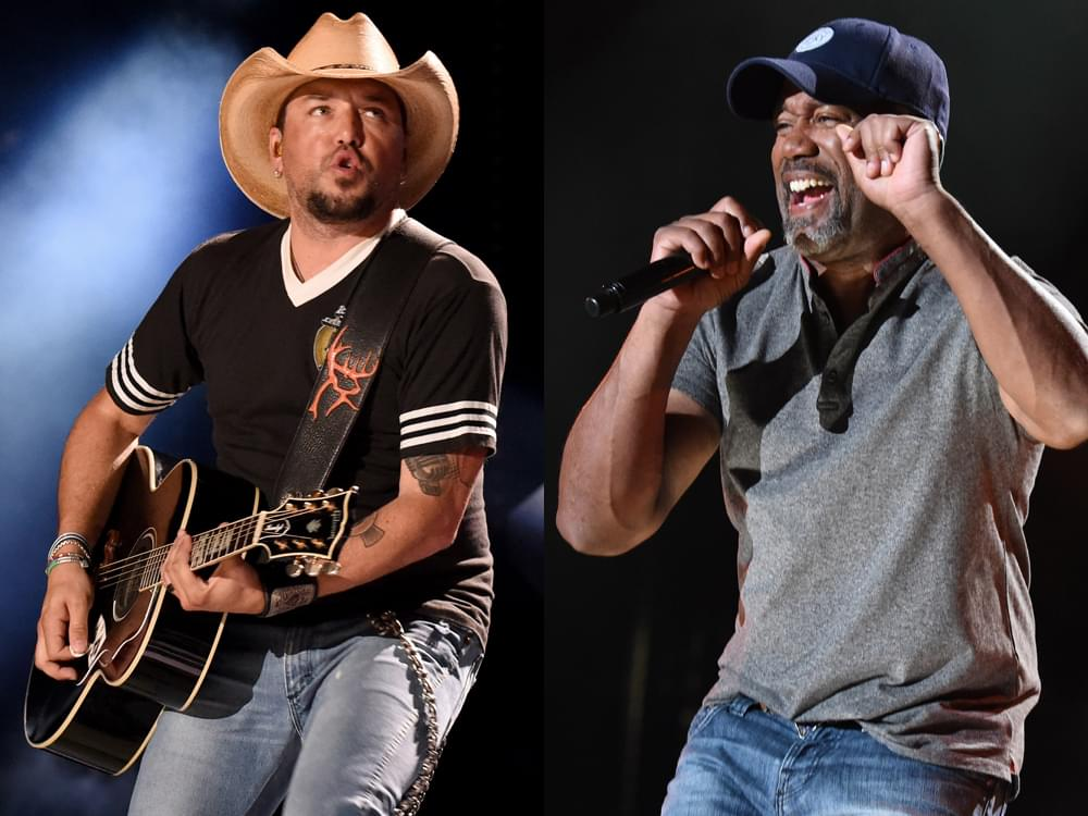 Photo Gallery: CMA Fest's Nissan Stadium Night 1 With Jason Aldean, Brothers Osborne, Dan + Shay, Darius Rucker & More