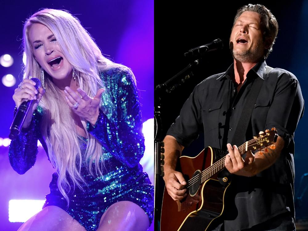 Photo Gallery: CMA Fest's Nissan Stadium Night 2 With Carrie Underwood, Blake Shelton, Old Dominion, Brett Young & More