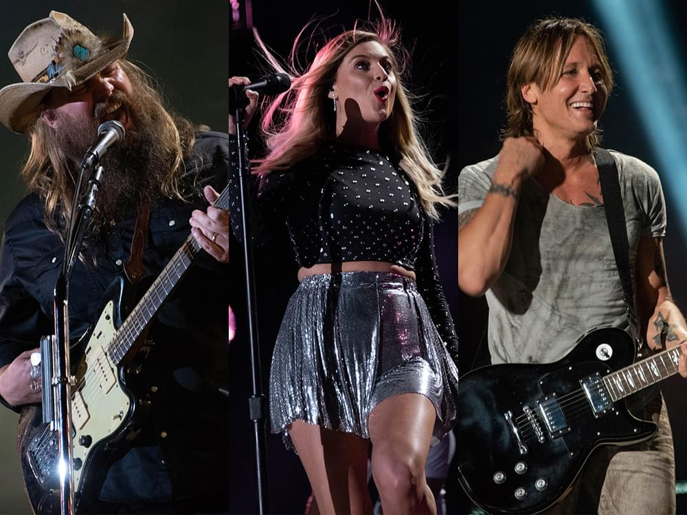 Photo Gallery: CMA Fest's Nissan Stadium Night 3 With Chris Stapleton, Keith Urban, Kelsea Ballerini, Sam Hunt, Dustin Lynch & More