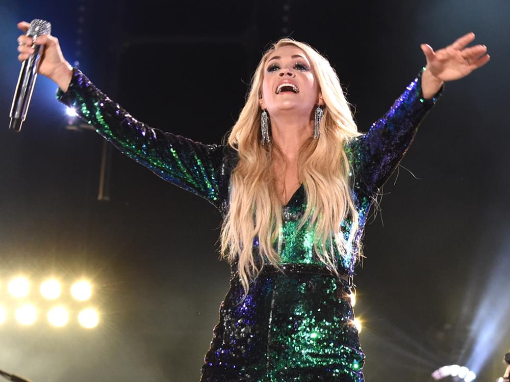 "Carrie Underwood Returns to ""Sunday Night Football"" With New Theme Song, ""Game On"""