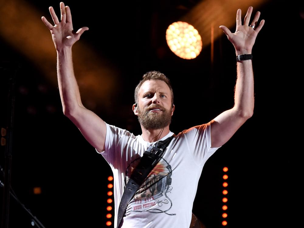 "Dierks Bentley's ""The Mountain"" Summits Billboard's Top Country Albums Chart"