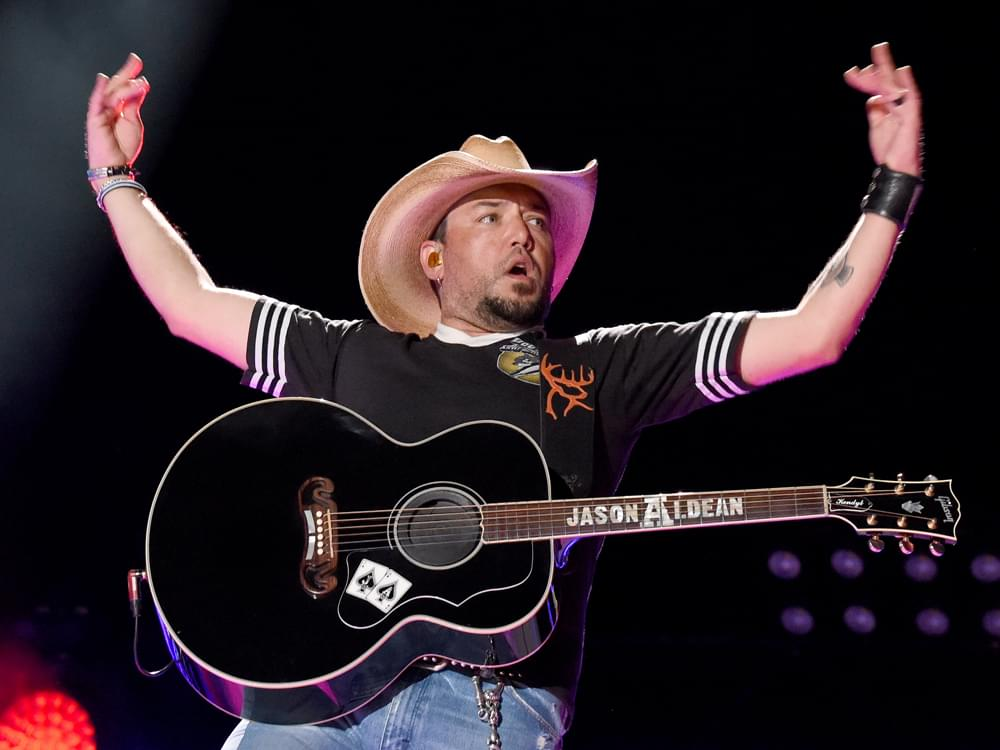 "Jason Aldean Says His ""Go-To Records by Alabama, Allman Brothers, Hank Jr. & John Anderson"" Keep Inspiring Him Today"