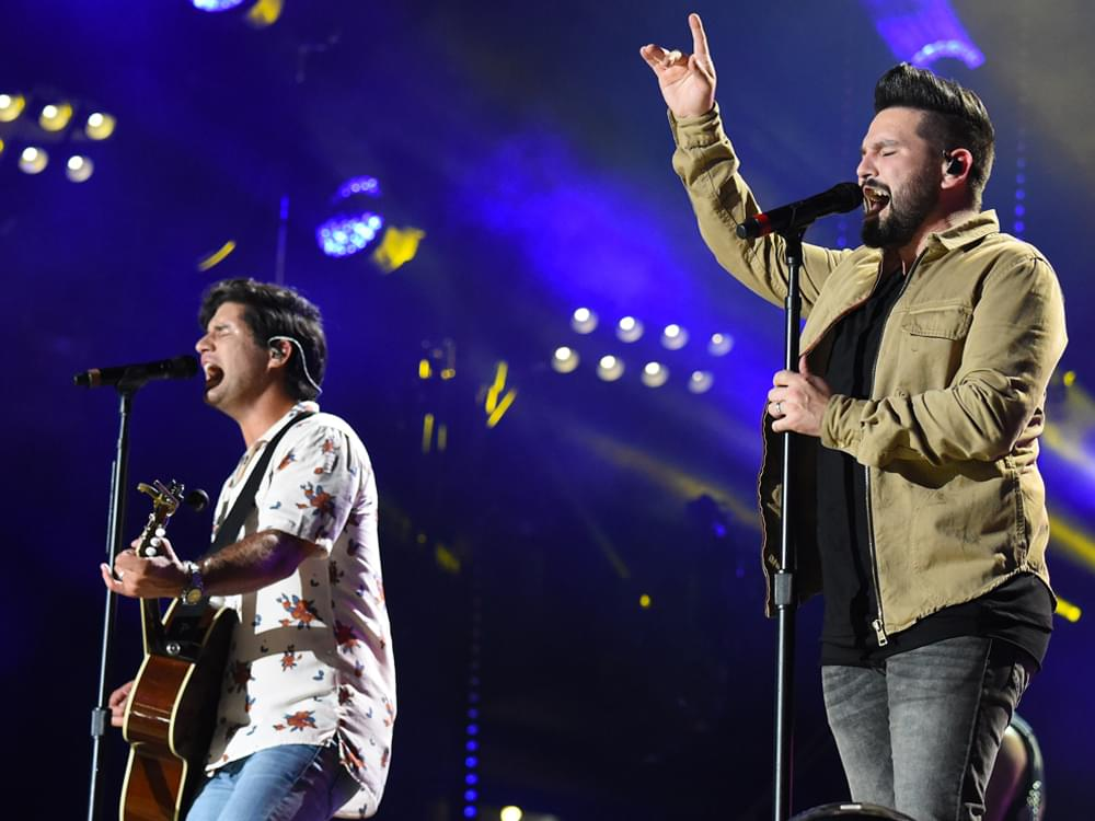 "Dan + Shay Double Up With No. 1 Self-Titled Album & No. 1 Single, ""Tequila"""