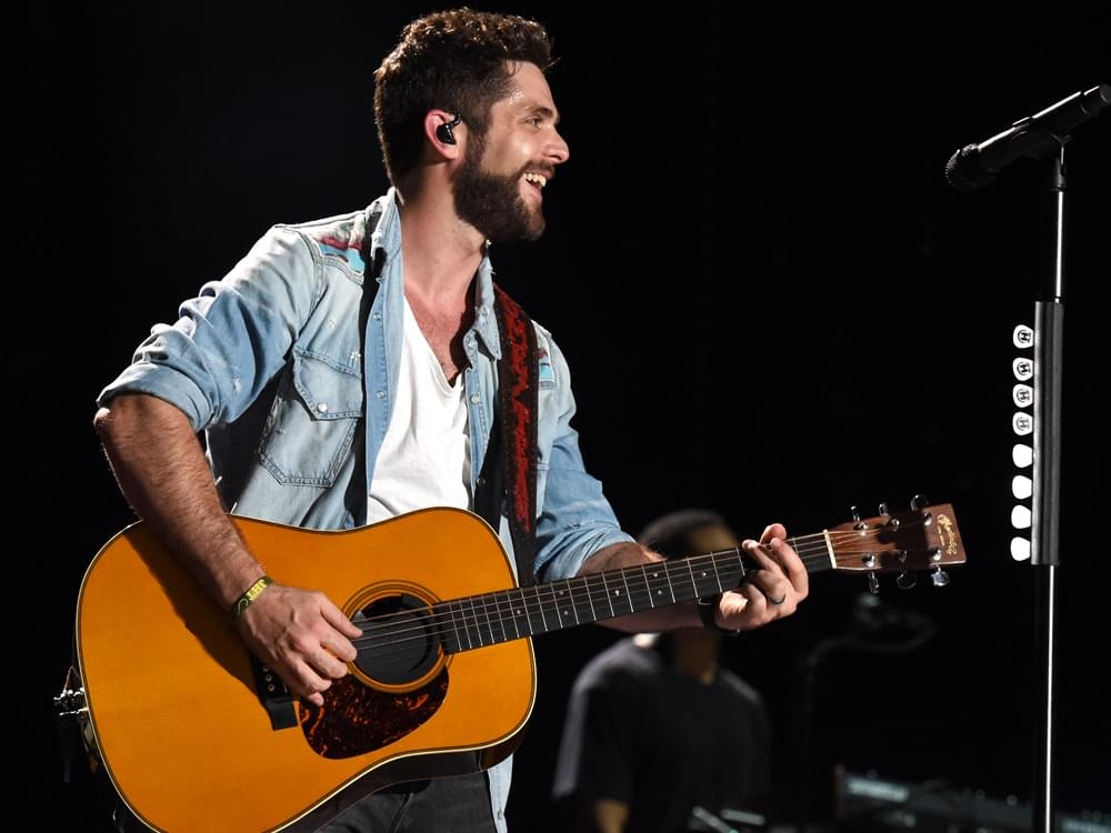"Take a Glimpse Into Thomas Rhett's Changing Life in New ""Life Changes"" Video [Watch]"