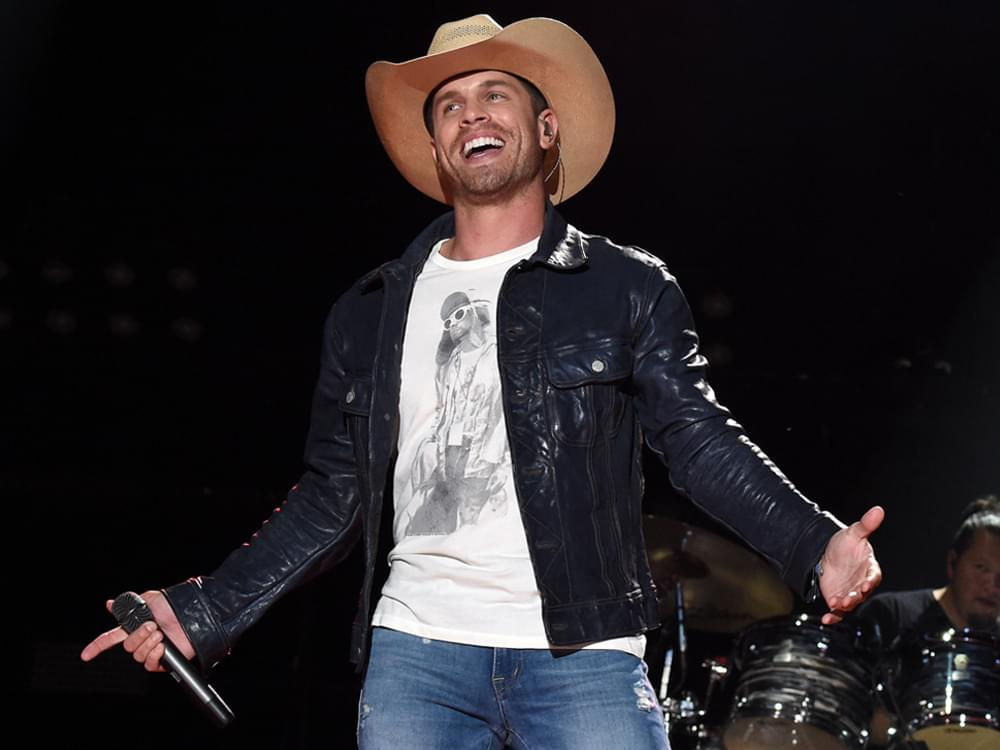 "Dustin Lynch Scores Sixth No. 1 Single With ""Good Girl"""