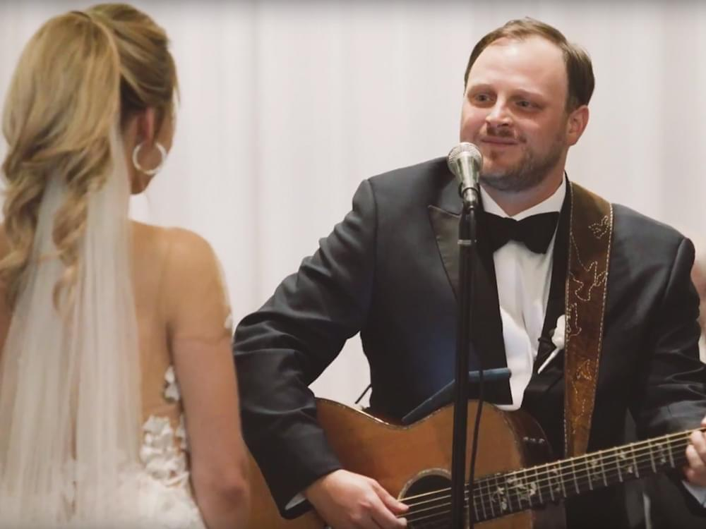 "Josh Abbott Serenades Wife Taylor With Heartfelt Wedding Song, ""Taylor Made for Me"""