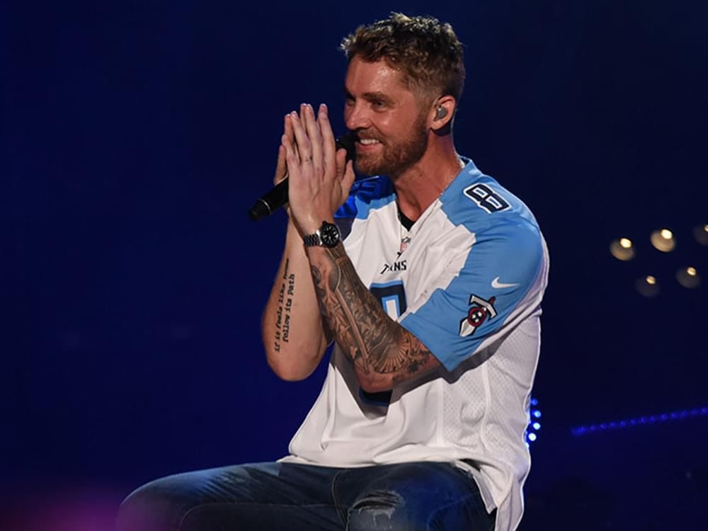 """Brett Young Finds the Top of the Country Charts for the 4th Time as """"Mercy"""" Hits No. 1"""