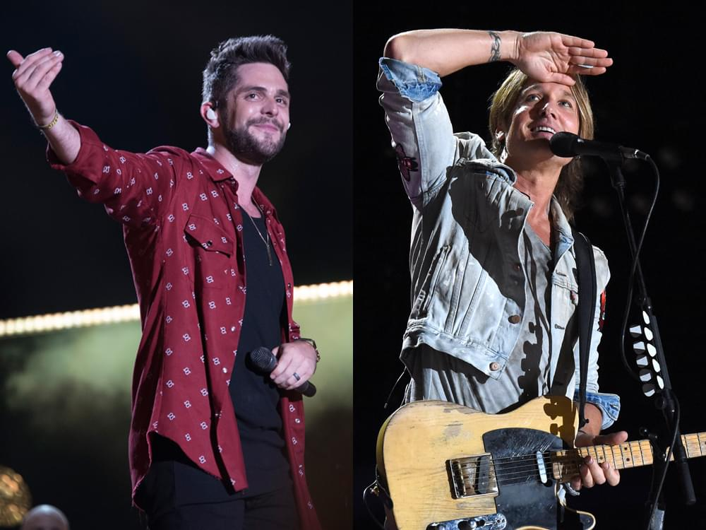 "Thomas Rhett and Keith Urban Join Season 15 of ""The Voice"" as Advisors"