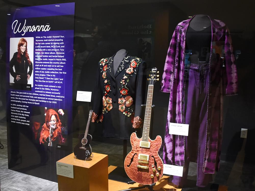 Take a Sneak Peek Inside the Opening of The Judds New Exhibit at the Country Music Hall of Fame [Photo Gallery]