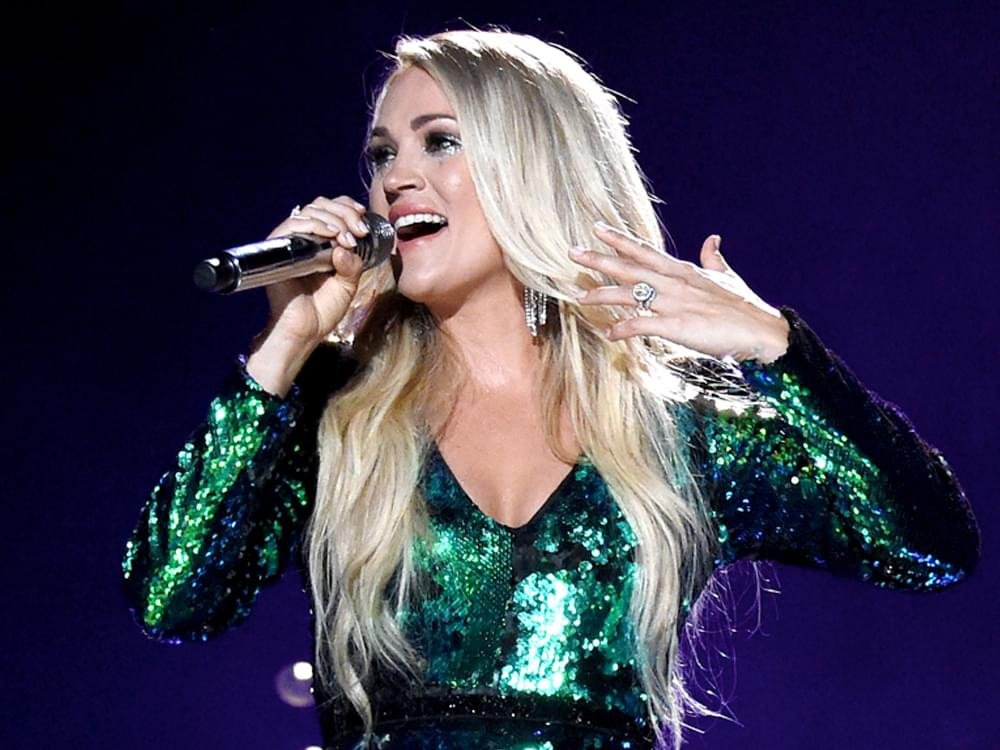 "Carrie Underwood Reveals the 13 Song Titles on Her Upcoming Album, ""Cry Pretty"""
