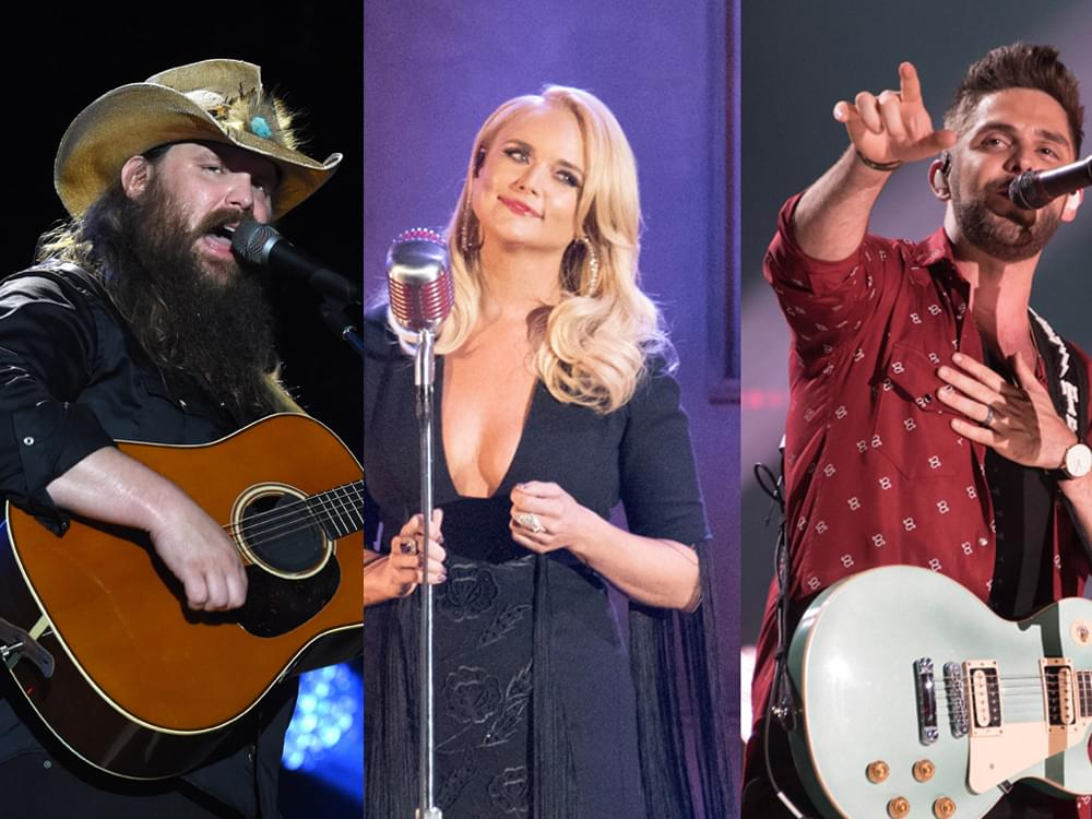 CMA Awards Nominations Breakdown by Leaders: Chris Stapleton (5), Miranda Lambert (3), Thomas Rhett (3), FGL (3), Dan + Shay (3) & More