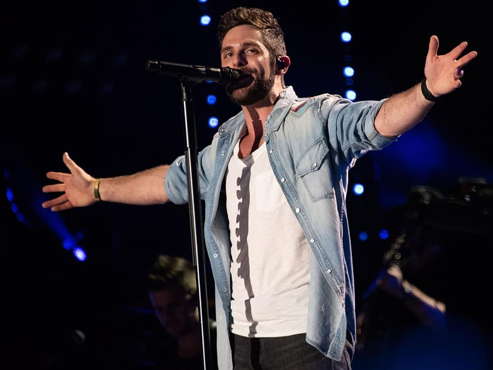 "Thomas Rhett Scores 11th No. 1 Single With ""Life Changes"" + Announces Deluxe Album"