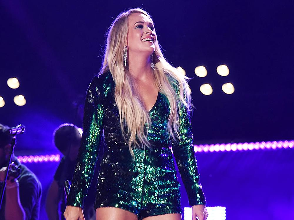 """Carrie Underwood Makes History as She Tops the All-Genre Billboard 200 Albums Chart With """"Cry Pretty"""""""