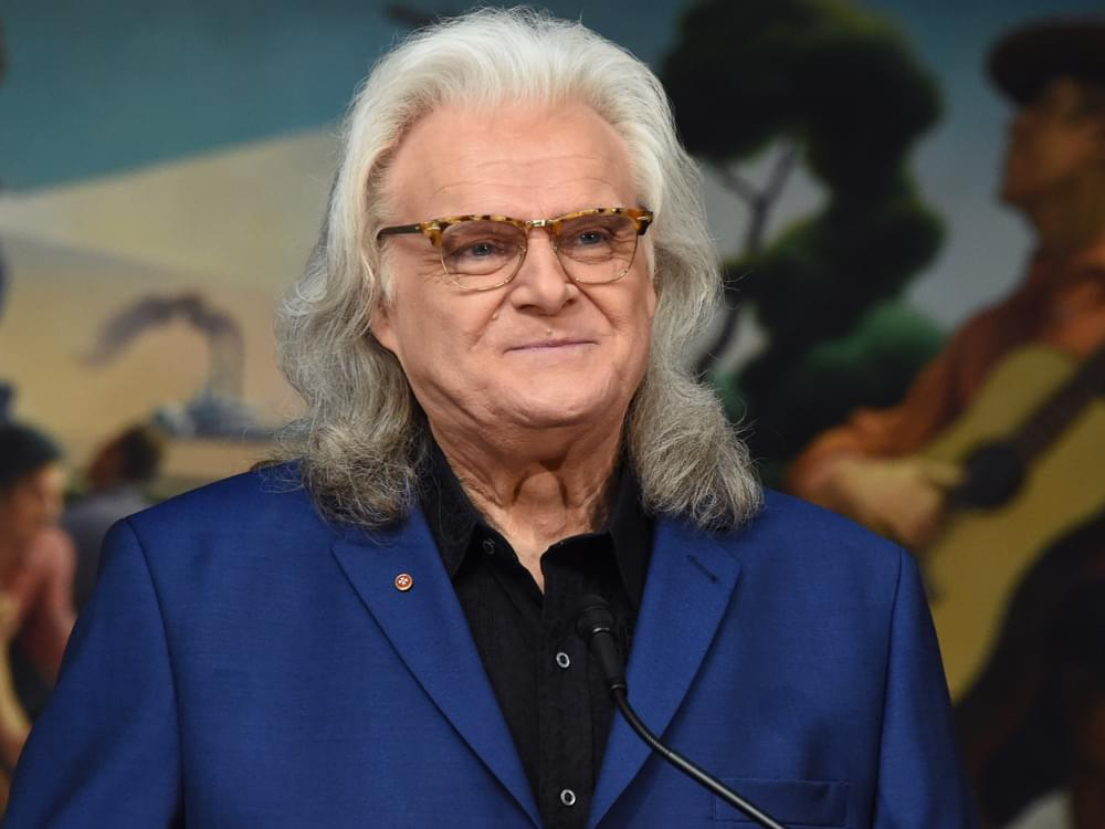 Ricky Skaggs Inducted Into Bluegrass Music Hall of Fame