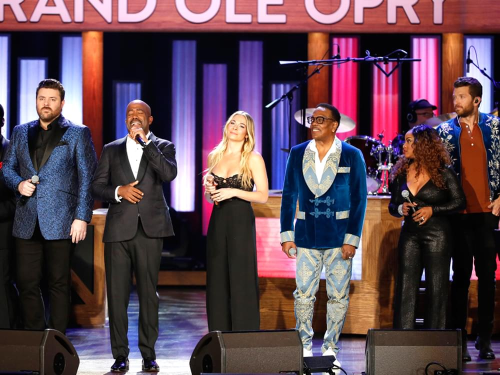 Darius Rucker, Travis Tritt, Cam, Chris Young, Brett Eldredge & More Salute Ray Charles at the Opry