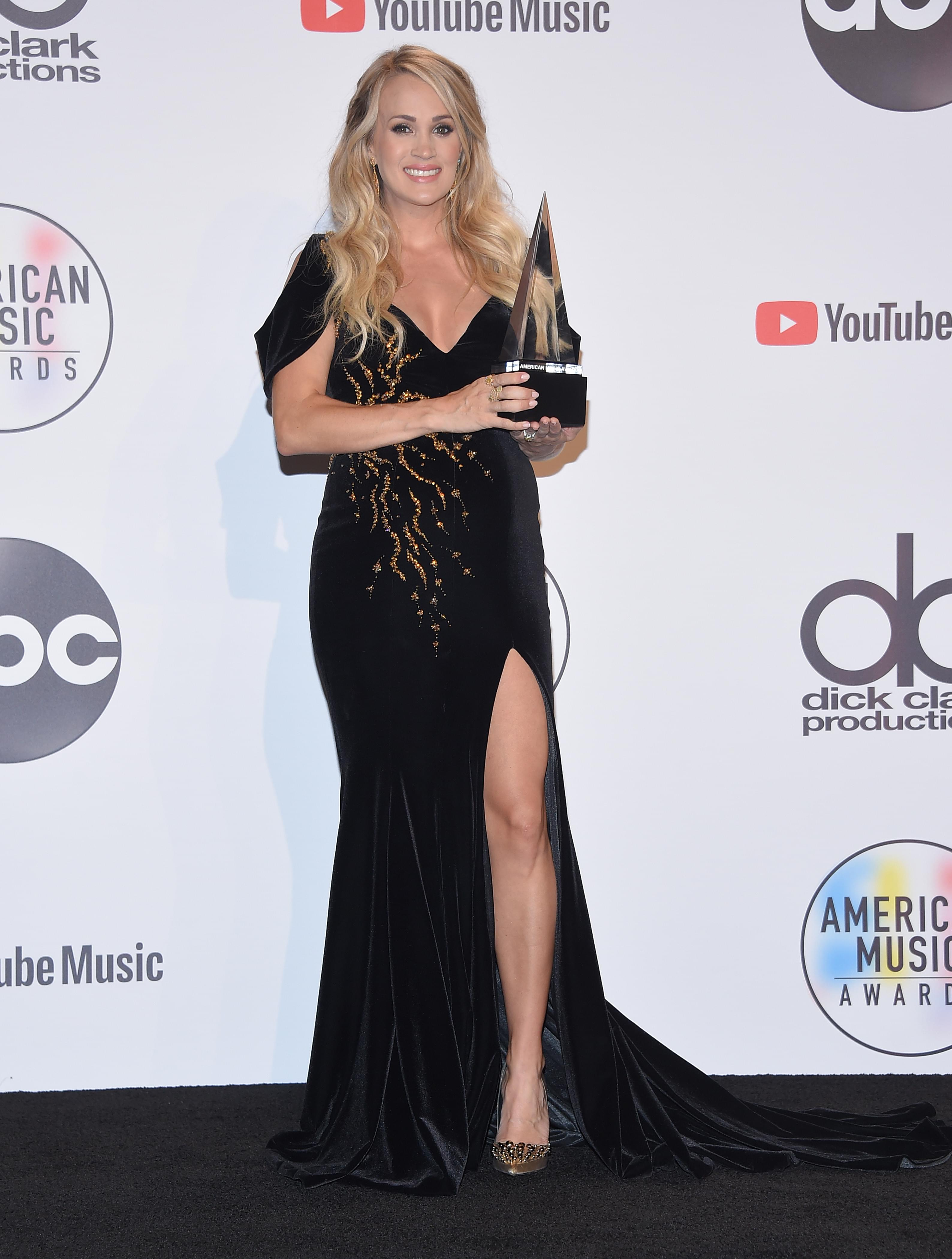 Kane Brown Carrie Underwood And Florida Georgia Line Win