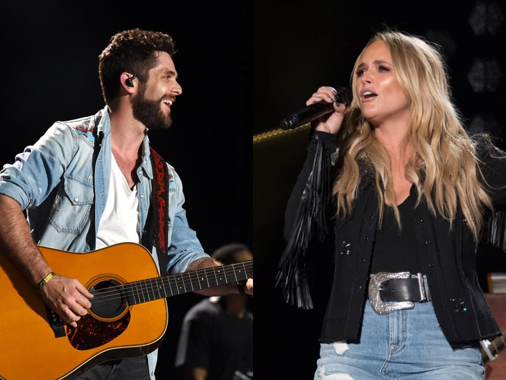 CMA Awards Announce Second Round of Performers, Including Thomas Rhett, Pistol Annies, Dierks Bentley, FGL & More