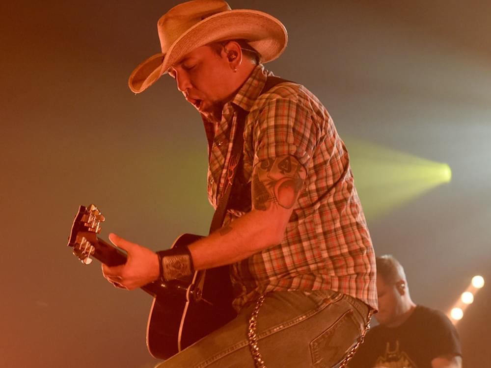 Jason Aldean Treats Nashville Fans to Free Concert [Photo Gallery]