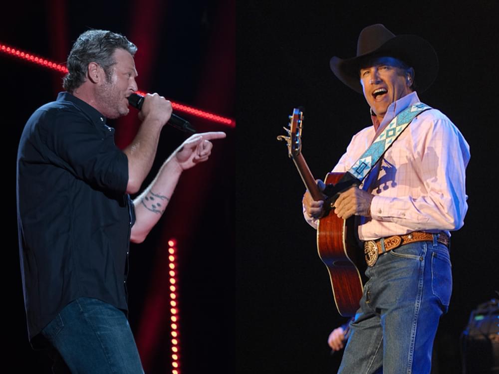 George Strait & Blake Shelton Will Headline One-Day Festival in June