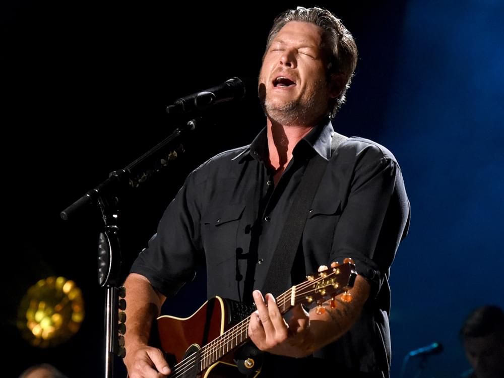 "Watch Blake Shelton Perform Gwen Stefani-Inspired Tune, ""Turnin' Me On,""  on ""The Voice"""