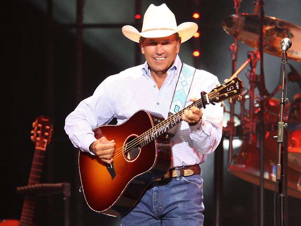 "Listen to George Strait's Boot-Scootin' New Single, ""Every Little Honky Tonk Bar"""