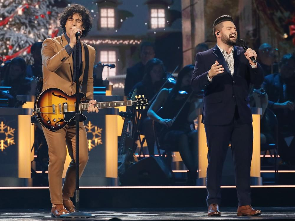 """Who Was The Oldest Performer At The Cma Country Christmas 2020 Watch Dan + Shay Perform """"I'll Be Home for Christmas"""" From """"CMA"""
