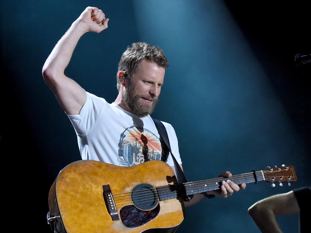 "Dierks Bentley Scores 18th No. 1 Single With ""Burning Man"""
