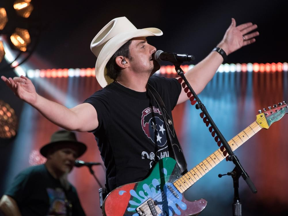 "Brad Paisley Is Hoping to Lift Spirits With His Upbeat New Single, ""No I in Beer"" [Listen]"