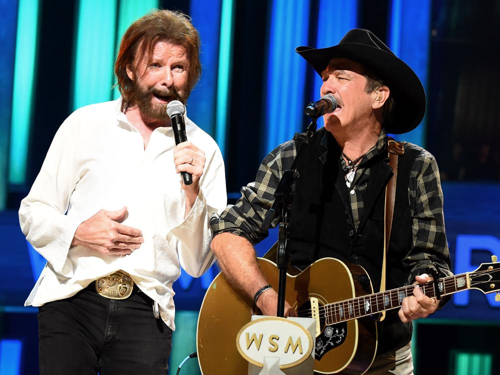 "Brooks & Dunn Team With Luke Combs & Kane Brown on Rebooted Versions of ""Brand New Man"" & ""Believe"" [Listen]"
