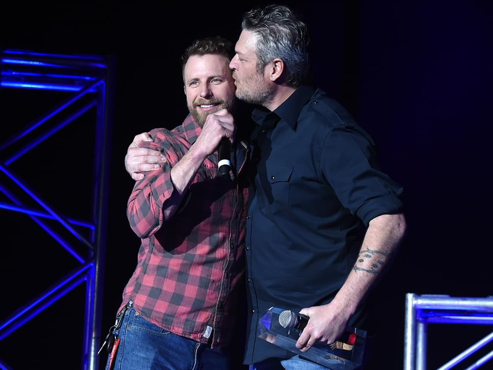 Photo Gallery: Blake Shelton Honored as Dan + Shay, Cole Swindell, Ashley McBryde & More Perform at CRS Lunch
