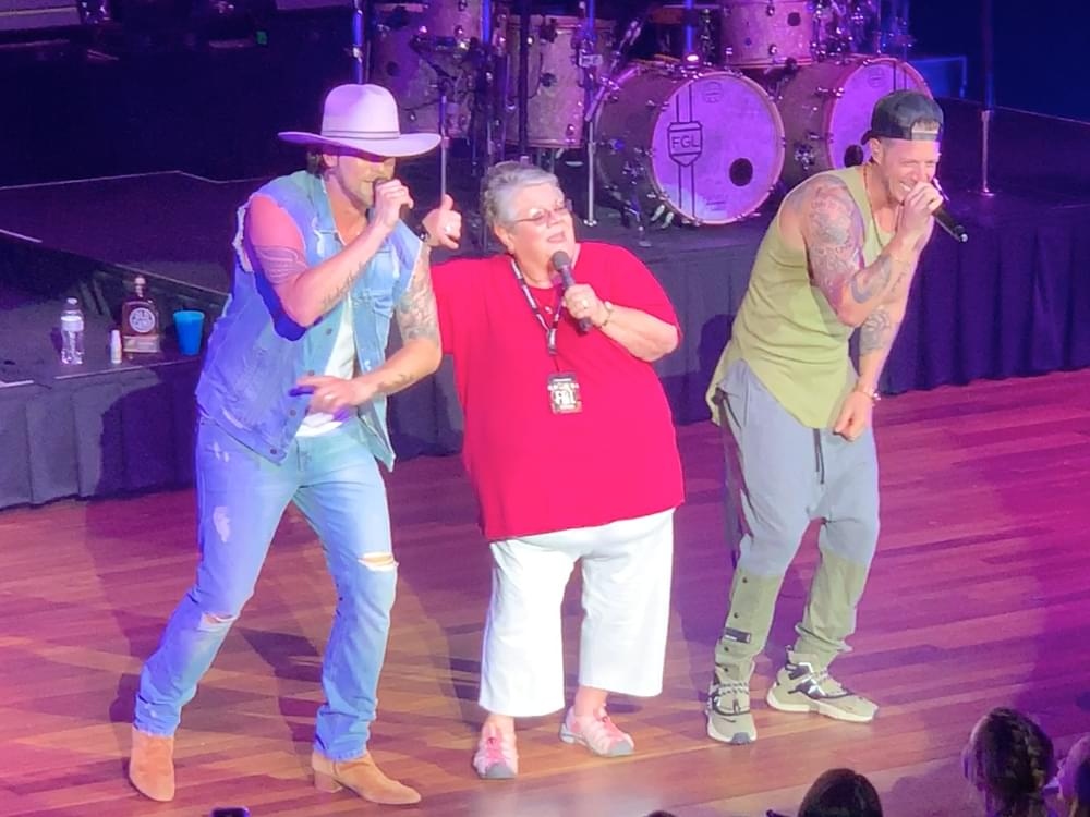 "Watch Florida Georgia Line Invite Fan Onstage to Fill in for Bebe Rexha During ""Meant to Be"" at Ryman Debut"