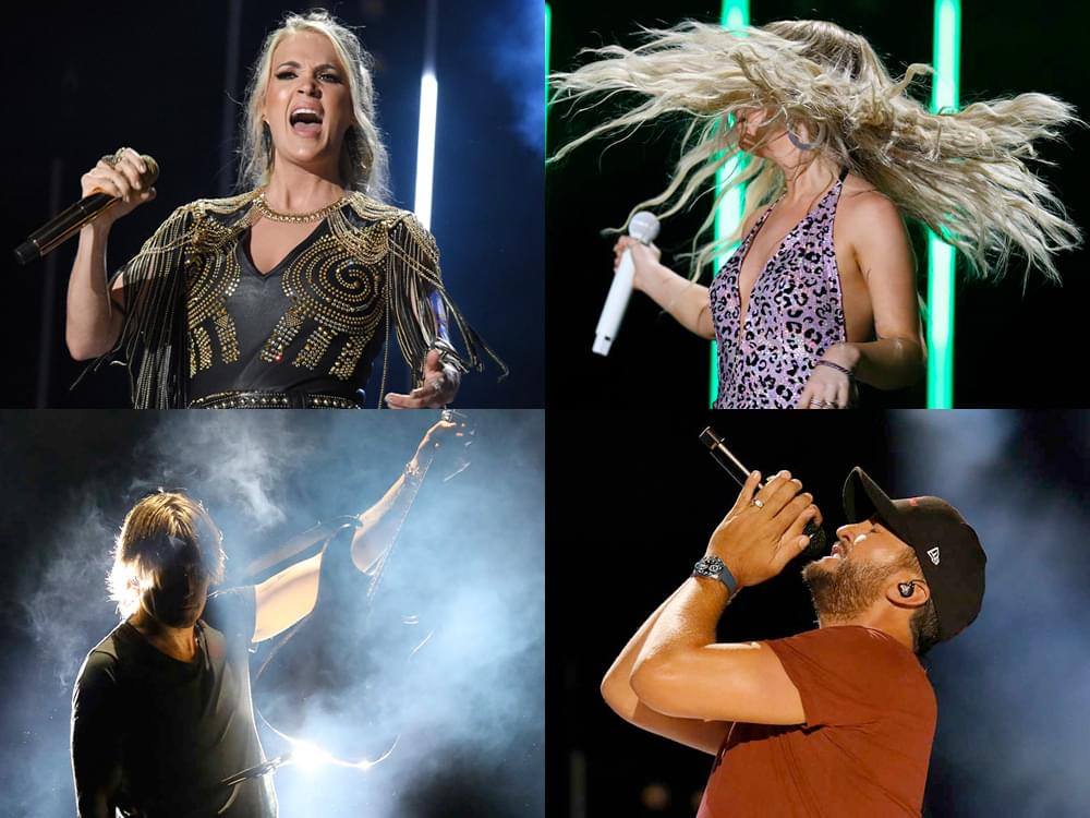 12 of Our Favorite Photos From CMA Fest's Nissan Stadium Shows, Including Carrie, Maren, Keith, Miranda & More